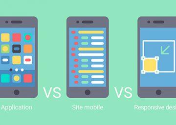Web Mobile vs Site web responsive