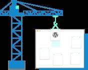 Miniature site WordPress